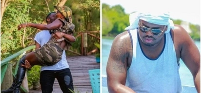 Akothee kissed by Nigerian musician and her lover Nelly Oaks is not happy about it