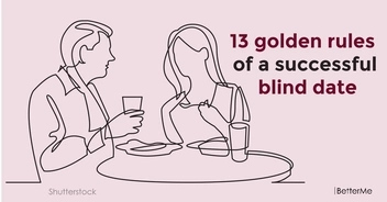 13 golden rules of a successful blind date