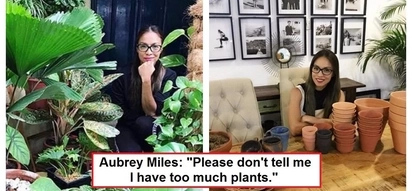 "Aubrey Miles' unique home is a paradise on Earth: ""My house is a jungle!"""