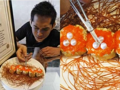 Pinoy chef proudly holds Guinness record for creating the world's most expensive sushi