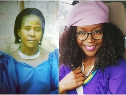 Comedienne Anne Kansiime introduces her stunning mum to the world and the resemblance is uncanny