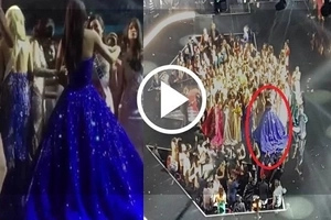 This video shows emotional Maxine Medina crying after the new Miss Universe was announced