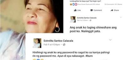 Viral Pinay mom posts hilarious fb statuses