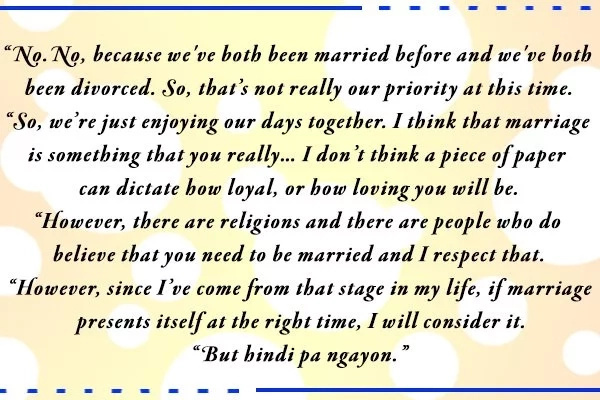 """""""He's like a Prince Charming to me."""" Alice Dixson on low-key relationship with non-showbiz boyfriend"""