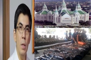 You will be shocked by the high caliber weapons allegedly hidden in expelled INC member Ka Angel's home