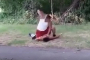 Big brother savagely beats man that tried to rape his sister