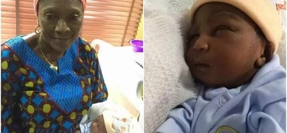 This 63-year-old African woman gives birth to her first child (photos)