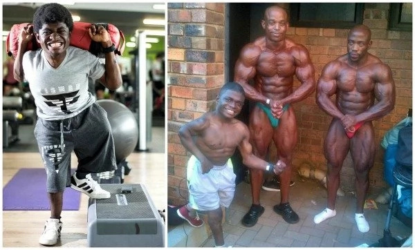 Meet 1-meter bodybuilder who weighs 35kg but beats rivals TWICE his weight (photos)