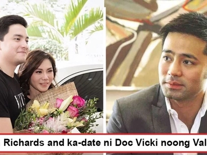 Di pala si Doc Hayden ang ka-date ni Madam! Vicki Belo and Alden Richards spend Valentine's Day together