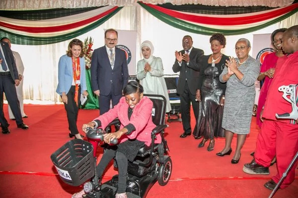 24 disabled Kenyans benefit from wheelchair donation