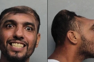 Guy's Mugshot With A
