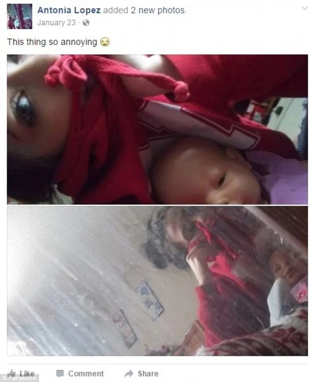 Tiró a su bebé por la ventana y pidió ayuda en Facebook