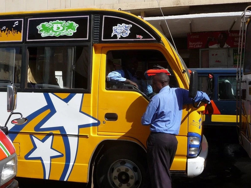Gunman opens fire inside a Nairobi matatu, shoots conductor dead, passengers injured
