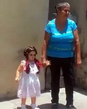 Bewitched doll only walks with no one else but its owner