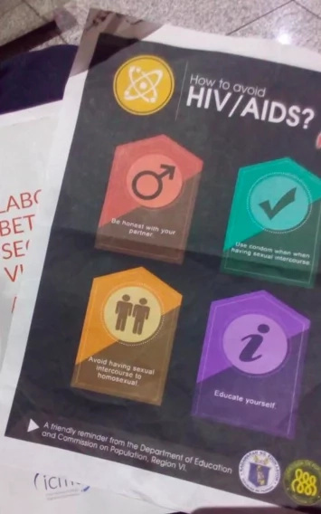 Netizens are infuriated with alleged DepEd HIV flyer