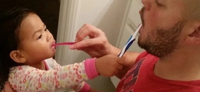 These dads and daughters are so cute and they hugely enjoy doing things together