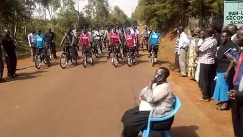 Ruth Odinga takes the Museveni challenge