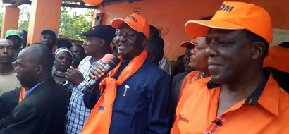 Raila's message to Ababu Namwamba as he tours Western Kenya