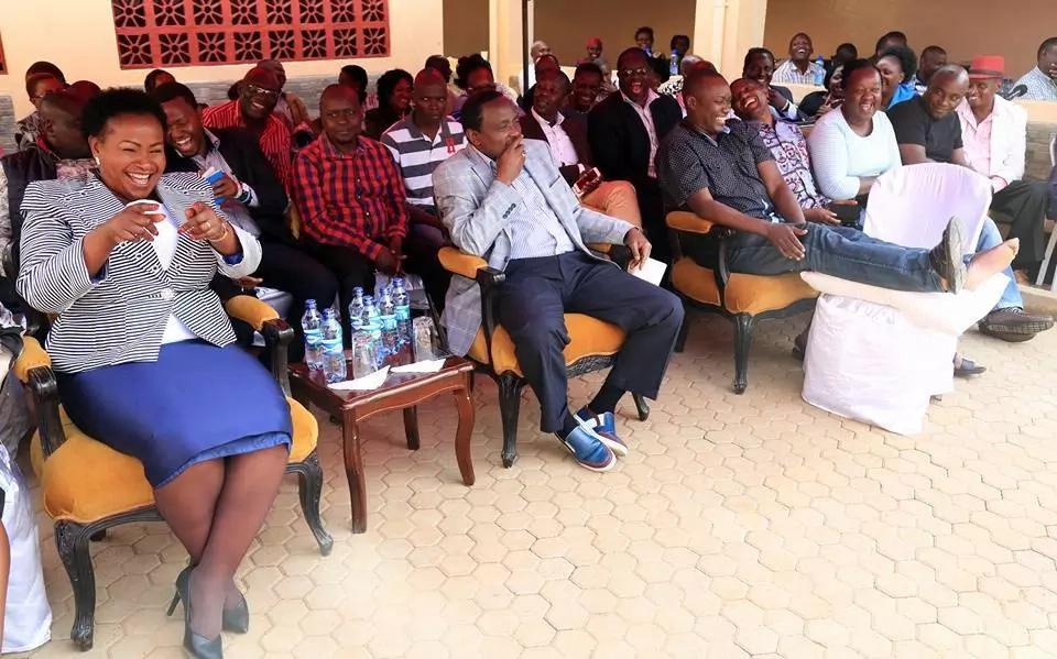 It's so unfortunate Kalonzo Musyoka has degenerated into a warmonger