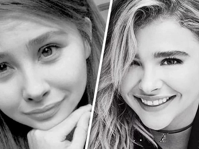 'We do look very like' - Hollywood star Chloe Grace Moretz tweets about Filipina doppelganger