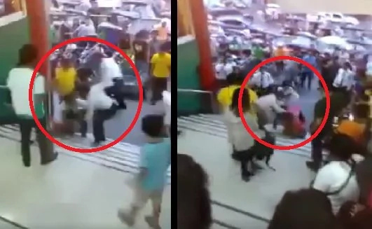 Trike driver gets beaten up by security guards in Tarlac mall