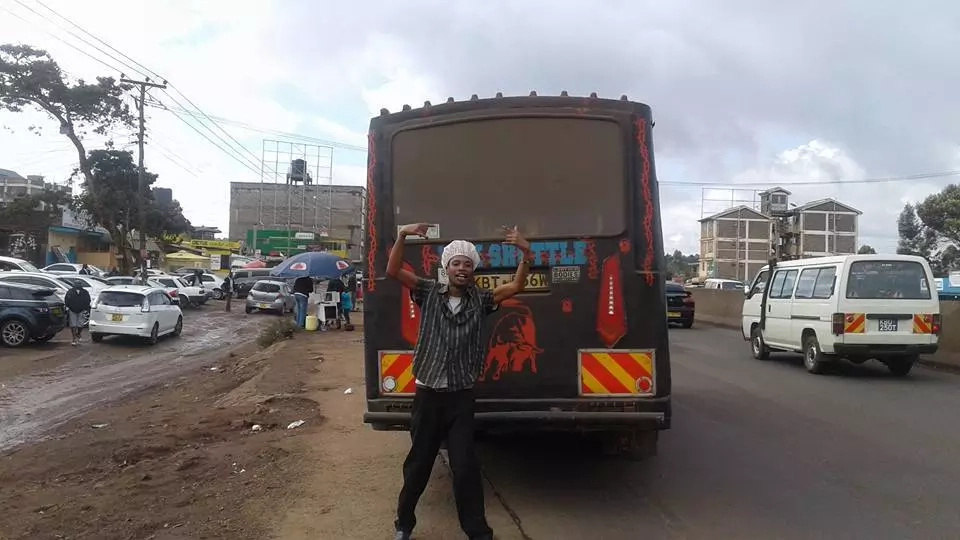 This is the rogue makanga who stole money from a passanger