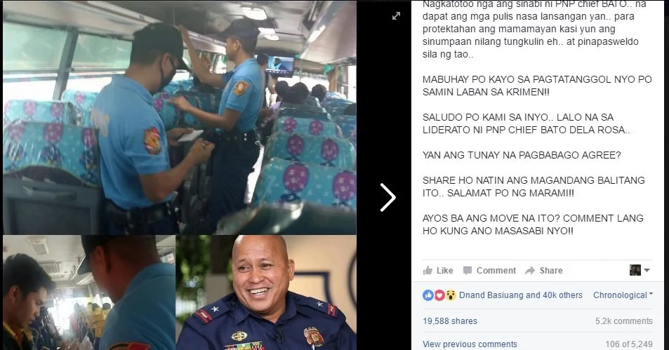 Here's another reason to commend Duterte