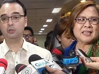 Senators go to WAR! Cayetano calls De Lima 'biased, POLLUTED'