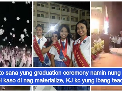 Panis ang graduation niyo dito! San Pablo students went viral in video of impressive flash mob during graduation