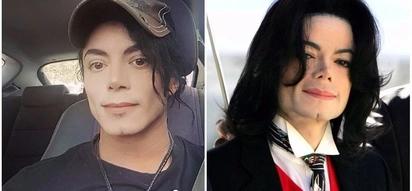 Kati ya hawa wanaume 2, je yupi ndiye Michael Jackson?(picha)