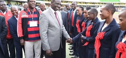IN PHOTOS: Ruto Hands Over Flag To Athletes Ahead Of IAAF World Youth Championship