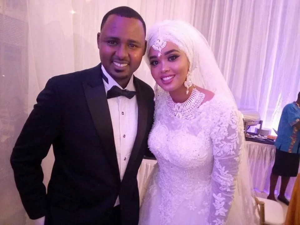 Finally, KTN's Yussuf Ibrahim ties the knot in lavish private ceremony