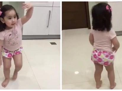 May pauso siya! Scarlet Snow Belo creates her original dance move to the tune of 'Despacito'