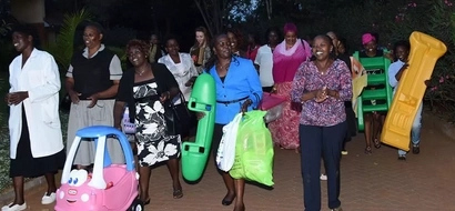PHOTOS: See How Rachel Ruto Received Baby Shower Presents