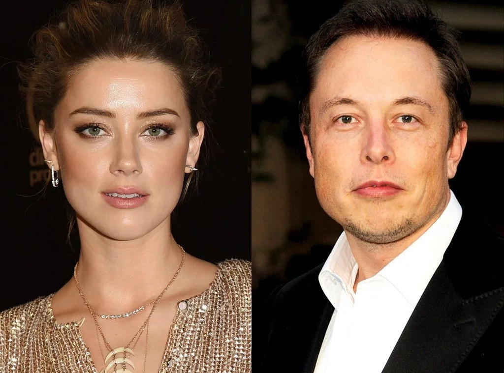 Elon Musk and Amber Heard sitting in a tree...