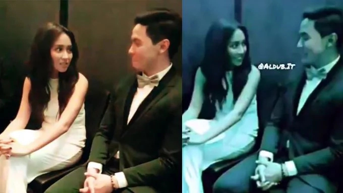 Kathryn and Alden spotted having a conversation