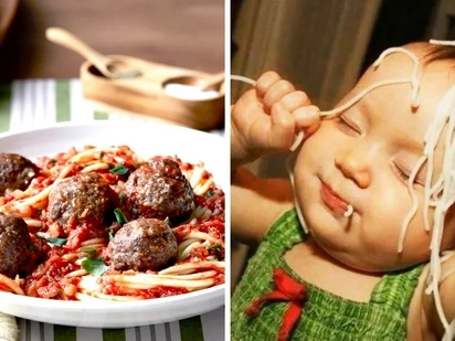 """A pregnant lover sent her man post card saying """"spaghetti"""". Learn why the man fainted"""