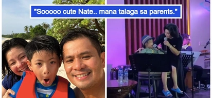 May pinagmanahan talaga! Regine Velasquez and son Nate Alcasid sing 'I Can' duet in Balesin