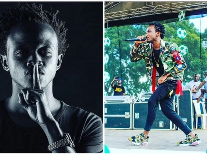 I will soon unveil my daughter's face - gospel singer Bahati promises fans