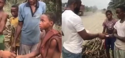Christmas spirit: man gives Ksh17,3k to 7 young boys who were fetching firewood to raise money for Christmas