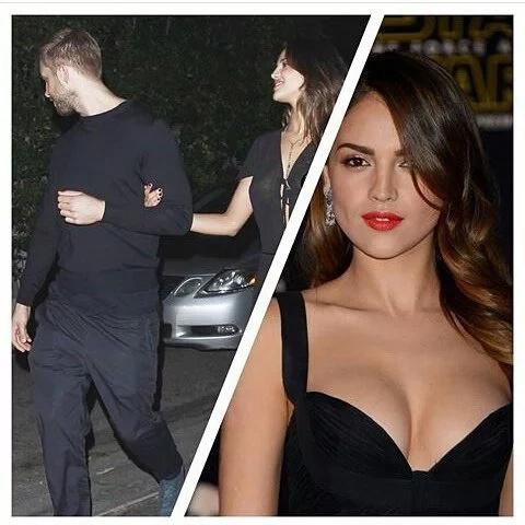 Eiza González sería la nueva novia de Calvin Harris