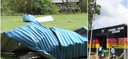 Bungoma police officers sleep in cold after deadly storm destroyed their houses