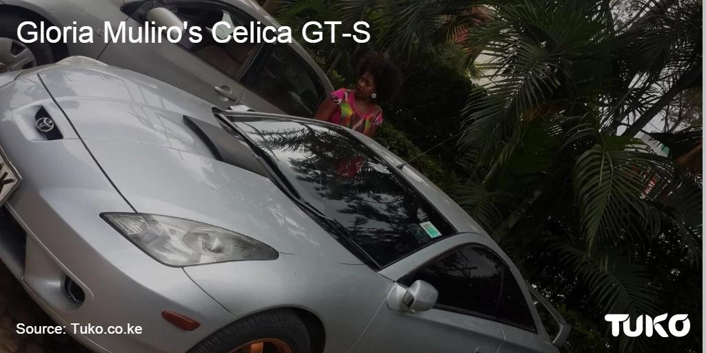 Photos: See the sleek sports car Gloria Muliro is driving