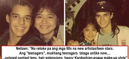 Di daw sila retokada dati! Netizens note how past young stars flaunt natural not 'retokada' beauty after Manilyn Reynes posts teen photos with Menudo