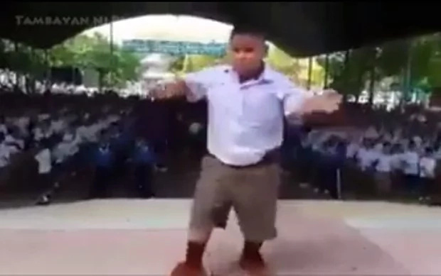 Kid's dance moves are awesome