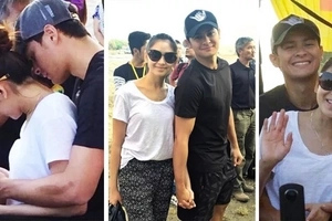 Napaka-supportive na girlfriend! Sarah G spotted in Cebu to watch Matteo Guidicelli's concert