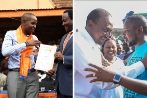 ODM MP and his brother arrested with 1,000 IDs