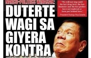 Duterte tabloid offered for FREE