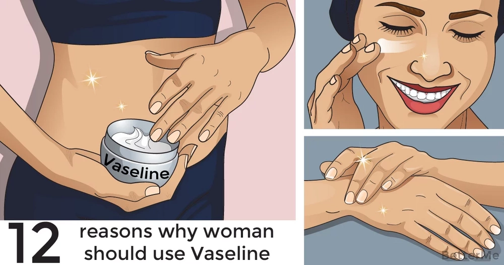 12 reasons why every woman should use Vaseline