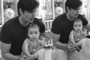 Priceless! Dingd0ng Dantes takes her little princess Baby Zia out on a date